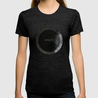 Ubiquity Womens Fitted Tee Tri-Black SMALL