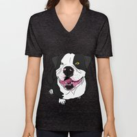 Bubba, The American Bull… Unisex V-Neck