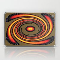 Spiral Fire In Abstract Laptop & iPad Skin