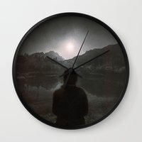 Hypnotized By The Moon I… Wall Clock