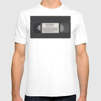 Evil Dead (comic Sans) Mens Fitted Tee White SMALL