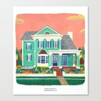 Dream House No.2 Canvas Print