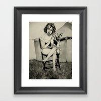 Circus. Framed Art Print