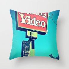 Elmo's Video Throw Pillow