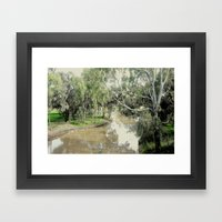 Wimmera River Framed Art Print