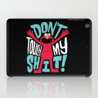 Crazy Elmo iPad Case