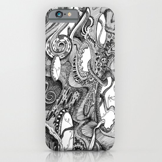 Tendrils iPhone & iPod Case