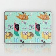 Merry Catmess Laptop & iPad Skin