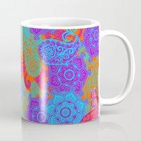 Vibrant Paisley Mug