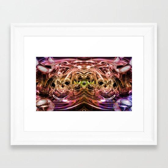 oro Framed Art Print