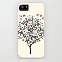 iPhone 5s & iPhone 5 Cases featuring Out On a Lark by Oliver Lake