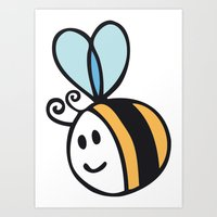 Beee Art Print