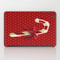 Candy Cane iPad Case