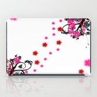 Neon Flower iPad Case