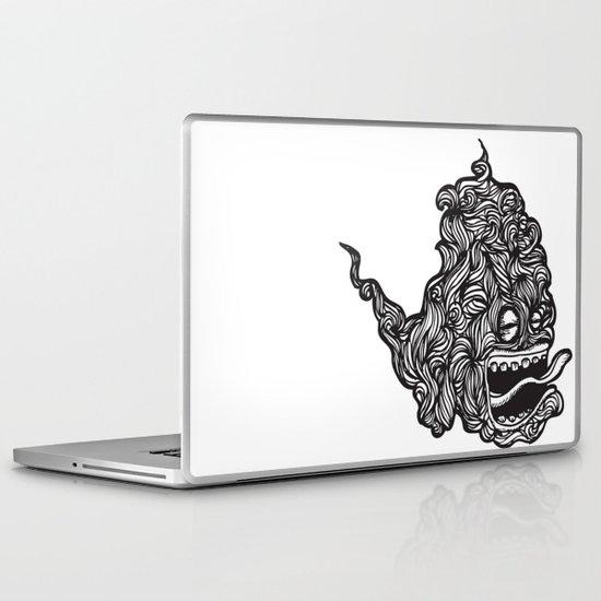 Hairy Smoke Bastard #1 Laptop & iPad Skin