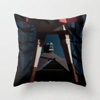 Origin of Horror Throw Pillow