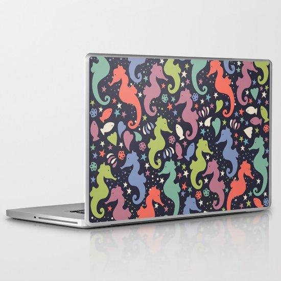 Dancing Seahorses Laptop & iPad Skin