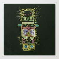 Gummy Totem Canvas Print