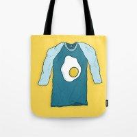 Fried Egg Shirt Tote Bag