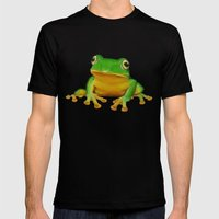 Taipei TreeFrog Mens Fitted Tee Black SMALL