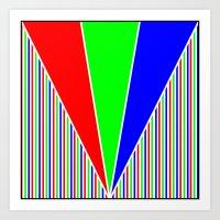 RGB1 Art Print
