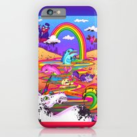 iPhone & iPod Case featuring Oil Spill by jublin