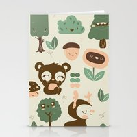 Nature Friends Stationery Cards