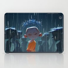 Monk in modern times iPad Case