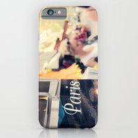 iPhone & iPod Case featuring Paris street scene by Gisele Morgan