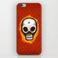 Skull iPhone & iPod Skin