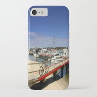 bicycle iPhone & iPod Cases featuring Bicycle  by Chris' Landscape Images & Designs