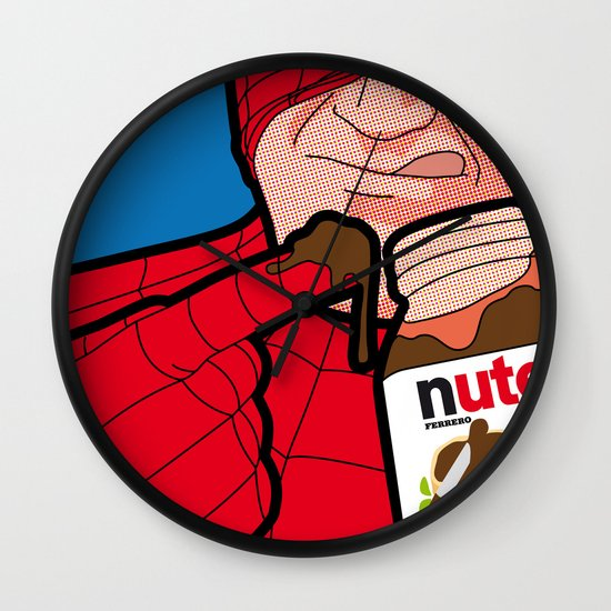 The Secret Life of Heroes - flavourfulTreat Wall Clock