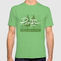 Twin Pines Mall Mens Fitted Tee Grass SMALL