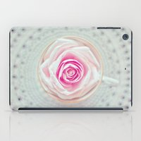 A Cup Of Rose iPad Case