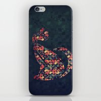 The Pattern Cat iPhone & iPod Skin