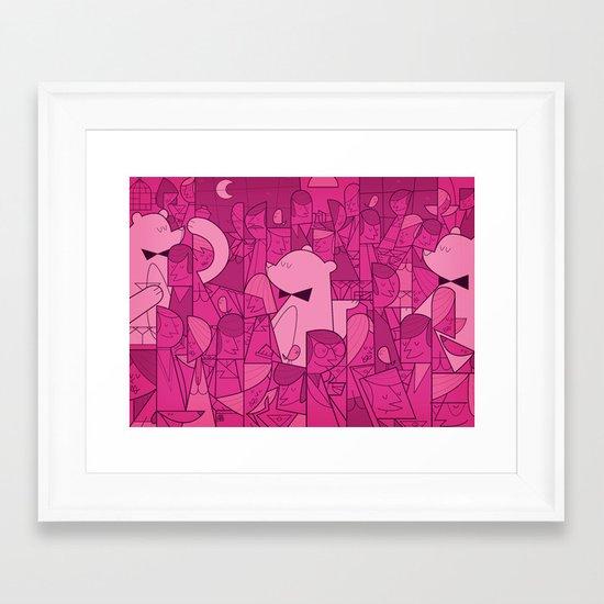 Pajama Party Framed Art Print