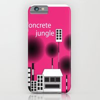 iPhone & iPod Case featuring concrete jungle by konlux