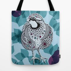 Partridge Tote Bag