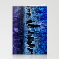 chicago Stationery Cards featuring chicago by Bekim ART