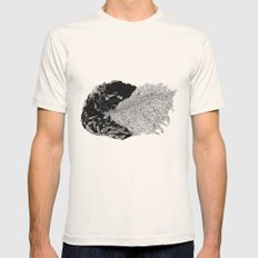 Cave Mens Fitted Tee Natural SMALL