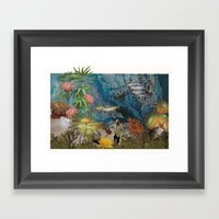 Sea Garden Framed Art Print