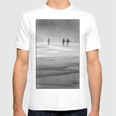 Surfing South Africa Mens Fitted Tee SMALL White