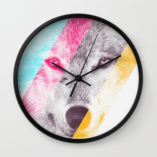 Wild 2 by Eric Fan & Garima Dhawan Wall Clock