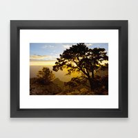 Grand Canyon Sunrise Framed Art Print