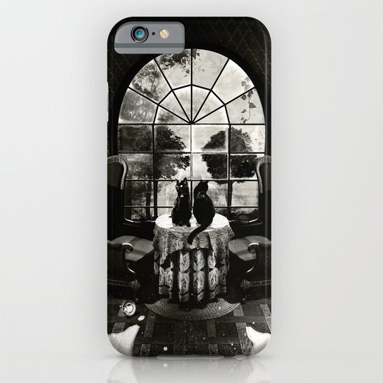 Room Skull B&W iPhone & iPod Case