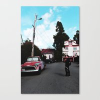 BERKELEY Canvas Print