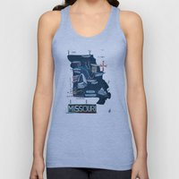 MISSOURI Unisex Tank Top