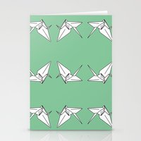 Paper Crane Motif, 2013. Stationery Cards