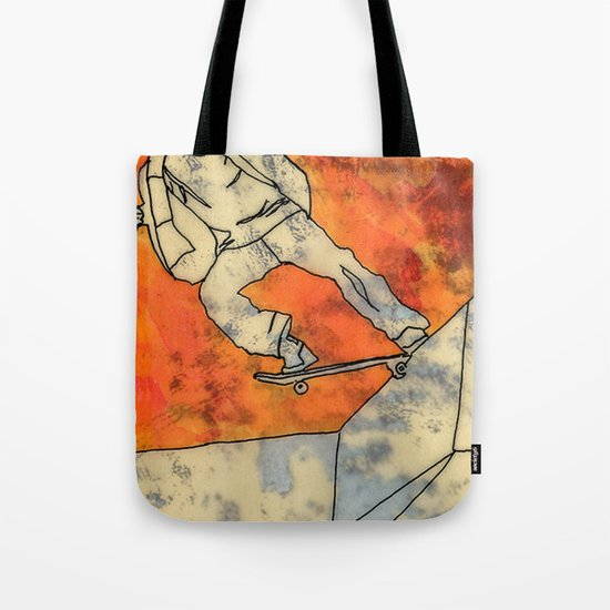 BackSide Tail. Tote Bag