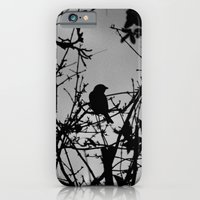 iPhone & iPod Case featuring Silhouette Bird.  by Nicole Mason-Rawle